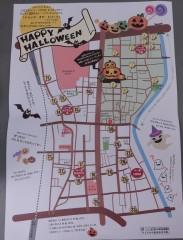 ハロウィン地図